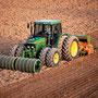 John Deere 6400 Traktor Mit Zwillingsbereifung (Quelle: John Deere)