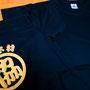2015くまの駅伝大会に参加される協和木材さんのチームTシャツのオーダーを頂きました。 ドライメッシュの黒ボディにゴールドのカッティングプリントがいい感じで仕上がりましたね♪