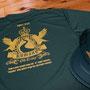 熊野市紀和町にて開催する熊野古道トレイルランイングレース「KUMANO OLD TRAILS 2013」の参加者用Tシャツとスタッフキャップが出来上がり、納品完了です!♪ イメージカラーのダークグリーンのTシャツボディとゴールドプリントが高級感をかもし出してイイ感じですね。 トレイルランニングとは舗装路以外の山野を走るものでランニングスポーツの一種です。 全国から600名以上の方が参加し、千枚田や熊野古道など熊野の大自然を存分に楽しめるこのレースは平成25年12月1日開催です。