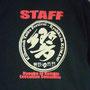 紀州路最大級!真夏の太鼓フェス。響鼓in熊野のスタッフ用Tシャツです! 「STAFF」の文字無しの一般用も販売。