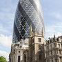mélange des genres étonnant dans la City de Londres