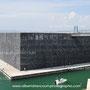 le J4, bâtiment principal du nouveau MuCEM à Marseille, architecte Rudy Riciotti