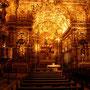 Die Sao Francisco-Kirche von innen - der Goldwahnsinn des Mittelalters ist gut zu sehen