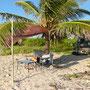 Am Strand kurz vor Ixcalak