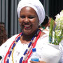 Bahianische Frau in Tracht