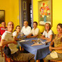 Mit Gustavo, Claudia und Mariel-Carmen beim Mittagessen
