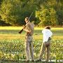 Auf Kaiman-Jagd