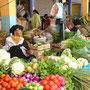 Obst- und Gemüsemarkt in Otavalo