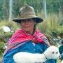 Indigena im Nationalpark Huascaran