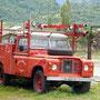 Auch das gibt's: Feuerwehr-Landy :-)