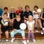 Steffy Nöske und die Volley-Minis aus Bergkrug November 2011