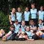 Historisch: Die U14 mit Trainerin Karin Gassner