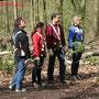 "Nette Leute Club im Kletterwald "" tree2tree "" Duisburg April 2010"