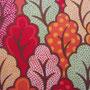 Tupfenblätter Rot/Orange