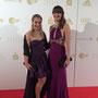 Jenni Bay und Ich auf der Gala