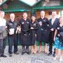 TOP Destillerie Burgenland mit Jackensponsor Raiffeisen