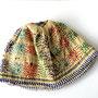 トルコ コンヤ地方 ビーズ帽子