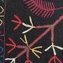 タジキスタン刺繍布 部分