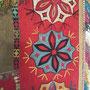 ラカイ族刺繍布