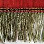 ウズベキスタン ラカイ族 壁掛刺繍布 部分