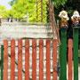 bewachter ungarischer Zaun