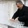 Wladimir, Virtuose auf der Glasorgel