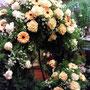 Bouquetkranz mit 2 Bouquets ca 70cm ohne Schleife Fr. 480.-