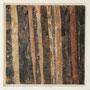 """Waldstreifen 16"", Acryl auf MDF, 20 cm x 20 cm, gerahmt, 2008"