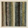"""Waldstreifen 13"", Acryl auf MDF, 20 cm x 20 cm, gerahmt, 2008"