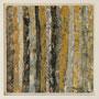 """Waldstreifen 10"", Acryl auf MDF, 20 cm x 20 cm, gerahmt, 2008"