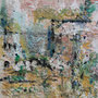 """Serra de Tramuntana 4"", Acryl auf Leinen, 29,5 cm x 29,5 cm (1996)"