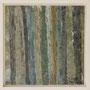 """Waldstreifen 1"", Acryl auf MDF, 20 cm x 20 cm, gerahmt, 2008"