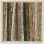 """Waldstreifen 2"", Acryl auf MDF, 20 cm x 20 cm, gerahmt, 2008"