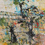 """Serra de Tramuntana 3"", Acryl auf Leinen, 29,5 cm x 29,5 cm (1996)"