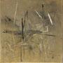 """Zeitspur 3"", Acryl auf BW, 40 cm x 40 cm, 2002"