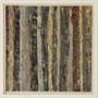 """Waldstreifen 4"", Acryl auf MDF, 20 cm x 20 cm, gerahmt, 2008"