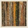"""Waldstreifen 9"", Acryl auf MDF, 20 cm x 20 cm, gerahmt, 2008"