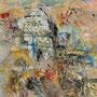 """Serra de Tramuntana 2"", Acryl auf Leinen, 29,5 cm x 29,5 cm (1996)"