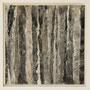 """Waldstreifen 12"", Acryl auf MDF, 20 cm x 20 cm, gerahmt, 2008"