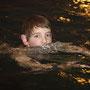 Eric Kastner beim Schwimmen