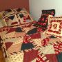 couvre-lit en patch fou de Catherine