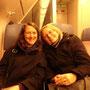 Am Flughafen wurde ich schon von Kathy (Bild), die aus GB angeflogen kam und Maddie, die aus München angeflogen kam, erwartet. Zusammen ging es mit dem ÖPNV in die Innenstadt...