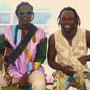 Ibrahima Ndour + Organisator Pape Kane