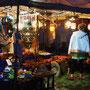 Abendstimmung auf dem Markt