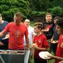 Grillen mit der Fussballjugend