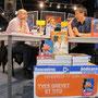"""Café littéraire spécial """"littérature jeunesse"""" avec Yves Grevet et Tito à l'Espace culturel de Quimperlé"""