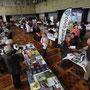 Une trentaine d'éditeurs venue de toute la Bretagne, Loire Atlantique comprise, ont pu présenter leurs catalogues et leurs nouveautés aux professionnels des Espaces culturels E. Leclerc