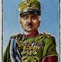 Generale Armando Vittorio Diaz, capo di Stato Maggiore del Regio Esercito (1861-1928), di A.Molino. Ink on paper, 2007