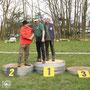 Siegerehrung - 8. Heide-Waldpokal 2015 in Merkwitz