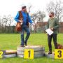 Siegerehrung - 7. Heide-Waldpokal 3D Turnier am 05.04.2014 in Merkwitz